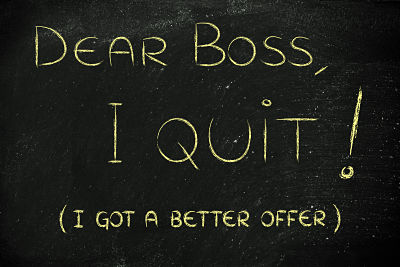 I Quit - Dealing with the loss of a key employee